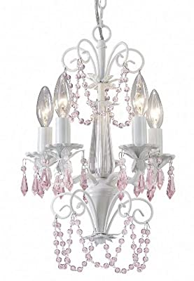 Canarm ICH171B05WH Danica 5-Light Chandelier