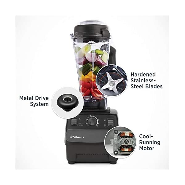 Vitamix 5200 Blender Professional-Grade, Self-Cleaning 64 oz Container, Black - 001372 2