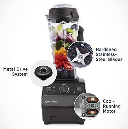 Vitamix 5200 Series Blender Review. Vitamix 5200 Blender Professional-Grade, Self-Cleaning 64 oz Container, Black - 001372