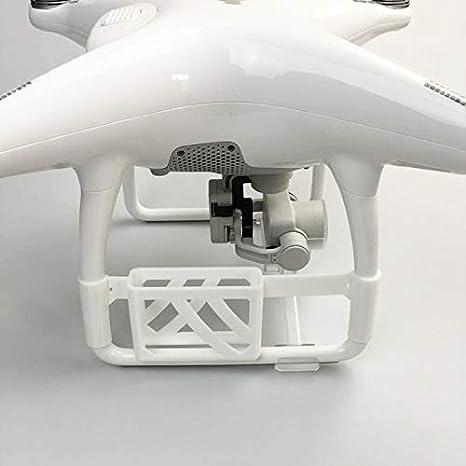 HUANRUOBAIHUO La impresión 3D perseguidor de TK102 GPS localizador Soporte Fijo Soporte de Montaje for dji Phantom 4 Accesorios Aviones no tripulados cuadricóptero Accesorios (Color : White)