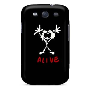 Premium [YqS996PUIk]pearl Jam Case For Galaxy S3- Eco-friendly Packaging