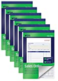 Large Sales Order Books, 6 Pack, 2-Part