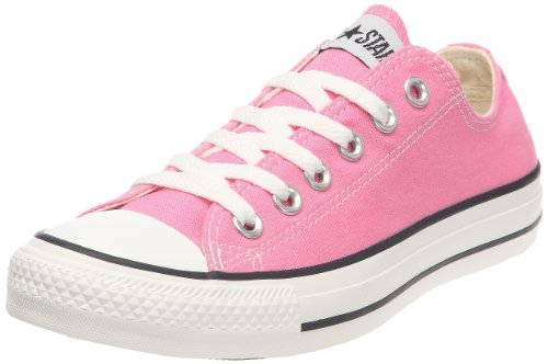 CONVERSE Chuck Taylor All Star OX Fashion Sneaker Slip On Shoe - Pink - Girls - 9 (All Star Girls Shoes)