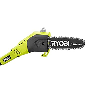 Ryobi ONE 8 in. 18-Volt Lithium-Ion Cordless Pole Saw – 1.3 Ah Battery and Charger Included