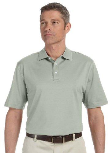 Devon & Jones Men's Short Sleeve Executive Club Polo Shirt D440 green XX-Large - Mercerized Jersey Polo