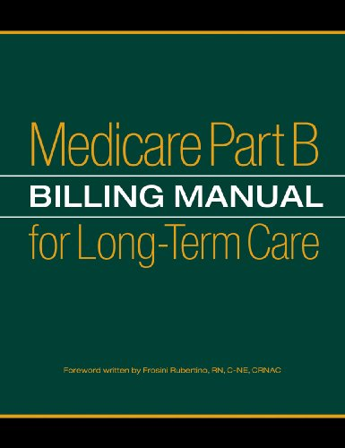 Medicare Part B Billing Manual For Long Term Care