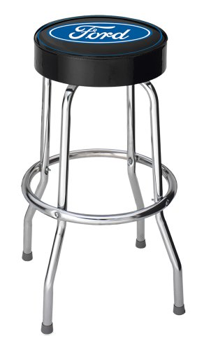 Plasticolor Ford Blue Oval Garage Stool (004751R01)