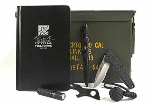 Acme Crate Black EDC 50mm Ammo Can Gift Set by Acme Crate