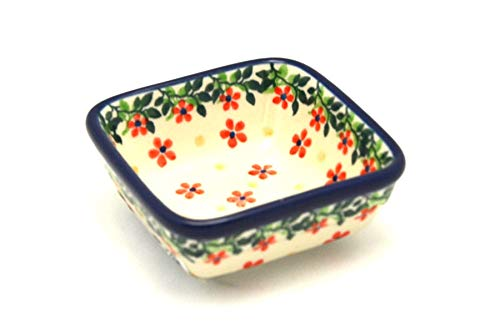 Polish Pottery Dish - Food Prep - Cherry Jubilee