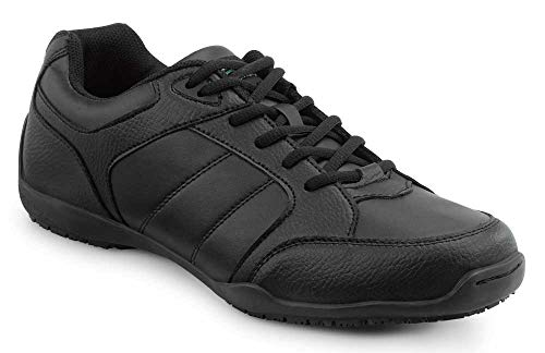 SR MAX Rialto Women's Black Slip Resistant Athletic Sneaker