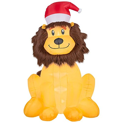 Home Accents Holiday 6' Inflatable Lion ()