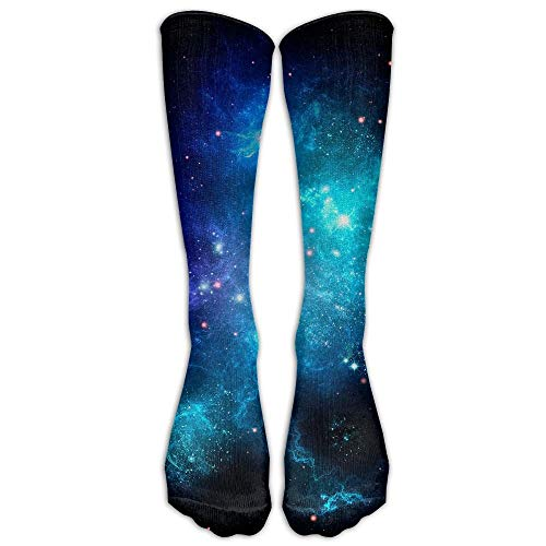 Holuday Long Dress Socks Soft Galaxy Nebula Space Sport Comfortable Breathable Over-the-Calf Tube