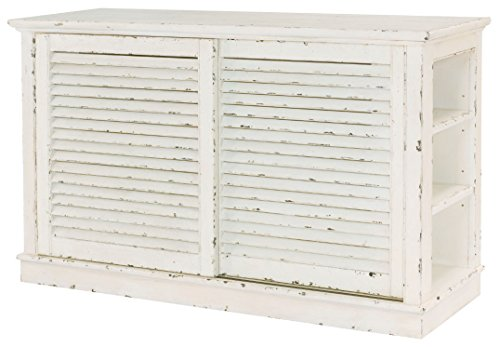 - Hammary Shutter Console in Antique