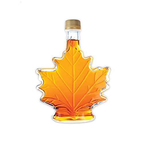 Pure, Organic Canadian Maple Syrup 250ml bottle, All-Natural, Grade-A Light Amber | Delicious Sweetness | No Preservatives, Gluten Free, Vegan Friendly (Can Maple Pure Syrup)