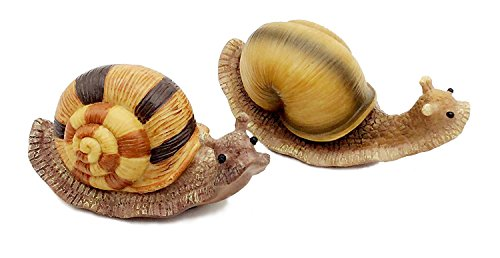 FICITI G111335 Snail Garden Statue Decoration Miniature F...