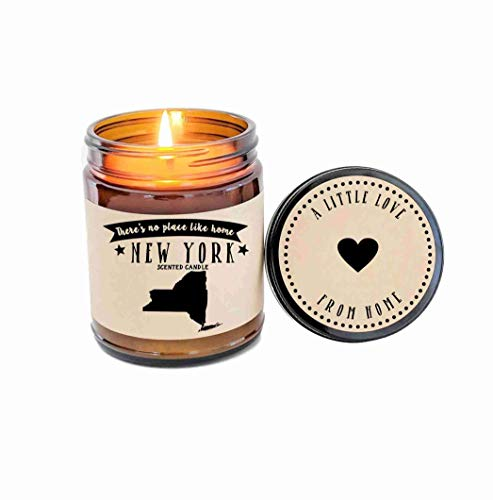 New York Candle Scented Candle State Candle Gift No Place Like Home Thinking of You Holiday Gift