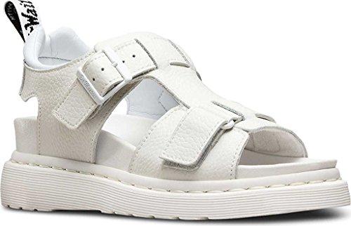 Dr. Martens - Sandalias de vestir de Piel para mujer blanco Weiß (white/pebble lamper) Weiß (white/pebble lamper)