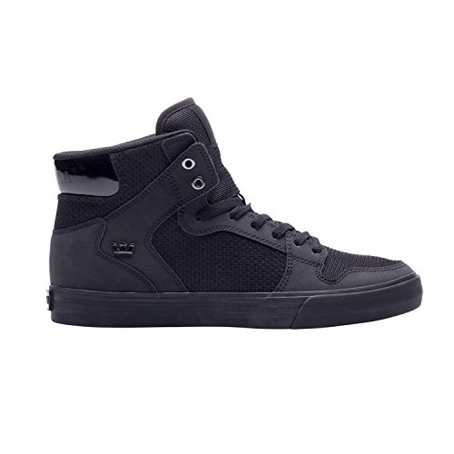 Supra VAIDER S28058 - Zapatillas de deporte de cuero para hombre negro