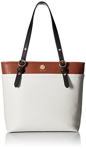 Anne Klein Pocket NS Tote, Liz/r/Black mm