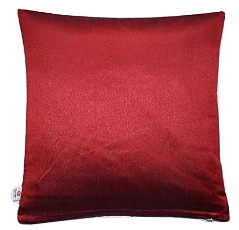 Funda de almohada roja de Ruwado Basics con cremallera ...