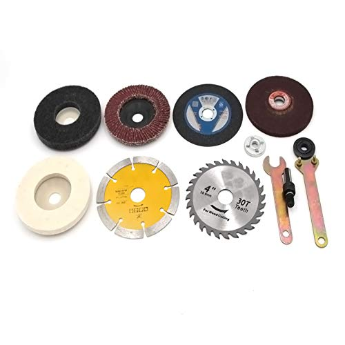 Back To Search Resultstools 4 5 Aperture 25mm Thick 25mm Polishing Wheel Sandpaper Grinding Wheel Chuck Impeller 80 Grit