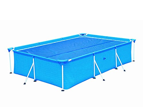 Hafix - telone di copertura per piscina, per riscaldonnato piscina, 1200 cm x 500 cm, 120 μm, colore  blu