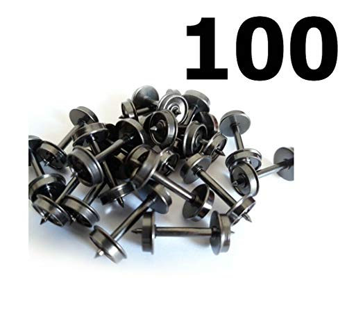 Hundred lnterMountain 40O55 33'' HO Scale Metal Wheel Set Train Track Accessorie Quick Arrive