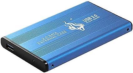 Disco duro externo portátil USB 3.0, almacenamiento externo para PC, portátil, PS4, Xbox One, Mac azul 1 tb: Amazon.es: Electrónica