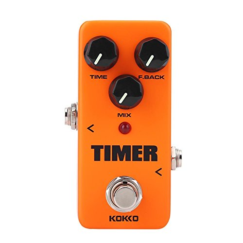 Guitar Pedal, Distortion Tone Effect Pedal Timer Delay Guitar Instrument Replacement by VGEBY