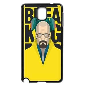 Samsung Galaxy Note 3 Cell Phone Case Black Breaking Bad Heisenberg Vector Artwork Fhvof