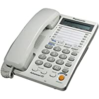 Panasonic KX-T2378MXW 2-Line Corded Landline Telephone, 220 Volts (Not for USA)