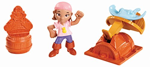 Fisher-Price Jake and The Never Land Pirates: Izzy's Stingray Slinger Toy ()
