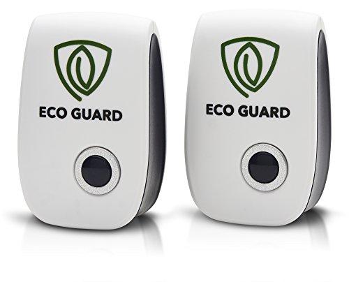 ECO GUARD ULTRASONIC PEST REPELLER 2 PACK BEST - Roach Guard