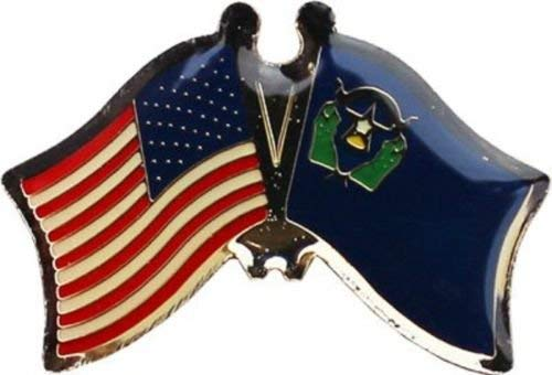 Wholesale Pack of 24 USA American Nevada State Flag Bike Hat Cap lapel Pin BEST material PREMIUM Vivid Color and UV Fade Resistant by MOON