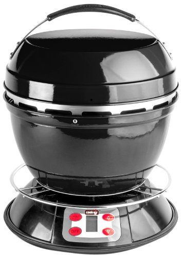 Cook-Air EP-3620BK Wood Fired Portable Grill, Black by Cook-Air