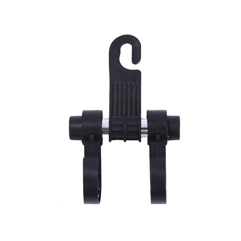 Car Multi-Function car hook seat Back Hook car seat Back Hook Hanging Creative car Interior Small Hook (Color : Black, Size : 1017cm)