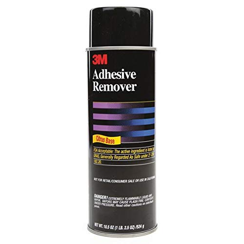 3M (6041) Adhesive Remover 6041 Pale Yellow, Net Wt 18.5 oz, 6 per case [You are purchasing the Min order quantity which is 6 Can]