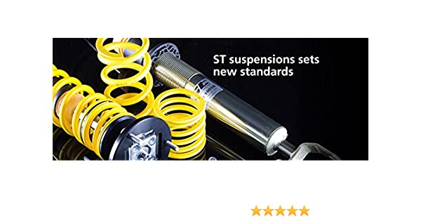 ST Suspension 65257 Sport-tech Lowering Spring for BMW E46 Sedan and Coupe, Set of 4