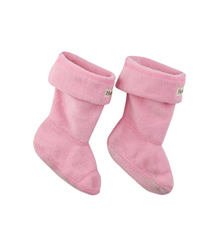 Hatley Little Girls' Boot Liners, Pink, M(11-13) from Hatley