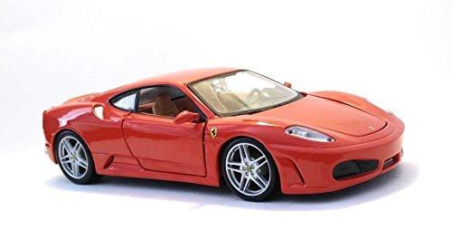 New 1:24 Display BBurago Collection - Ferrari Race & Play RED Ferrari F430 Diecast Model Car by BBurago (Without Retail Box)