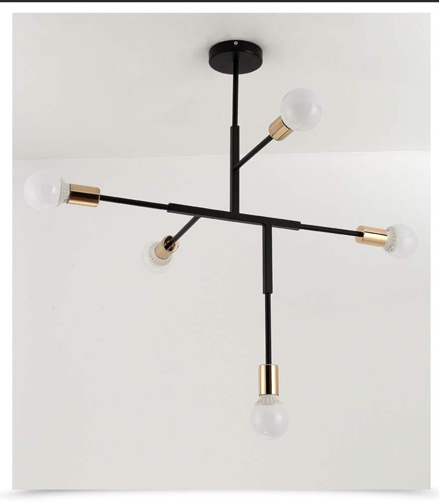 Light-S 現代の人格ランプ北欧リビングルームランプ現代のミニマリストのダイニングテーブルランプクリエイティブ錬鉄製ロングスタディ寝室ペンダントライト   B07TQ67QN3