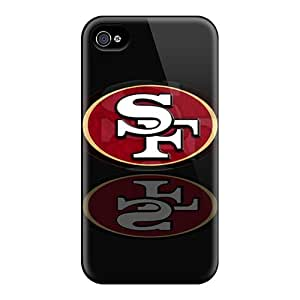 Premium Protection San Francisco 49ers Case Cover For Iphone 4/4s- Retail Packaging