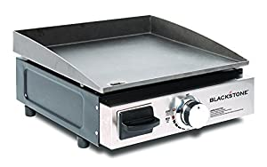 1. Blackstone Table Top Grill - 17 Inch Portable Propane Gas Griddle