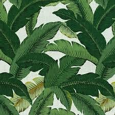 RSH Decor Set of 4 Indoor Outdoor Pillows – 20 Square Throw Pillows Rectangle Lumbar Decorative Throw Pillows – Made with Tommy Bahama Swaying Palms – Aloe – Green Tropical Palm Leaf