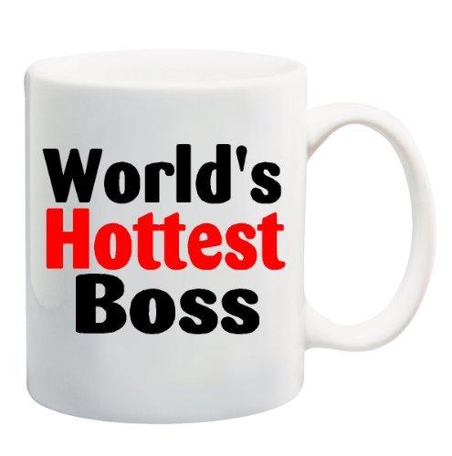 WORLD'S HOTTEST BOSS Mug Cup - 11 ounces