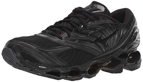Mizuno Men's Wave Prophecy 8 Running Shoe, Black, 13 D US ()