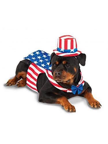 Uncle Sam Big Dog Boutique Costume, XXX-Large -