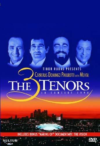 The 3 Tenors In Concert 1994 with The Vision: Making of the Concert ()