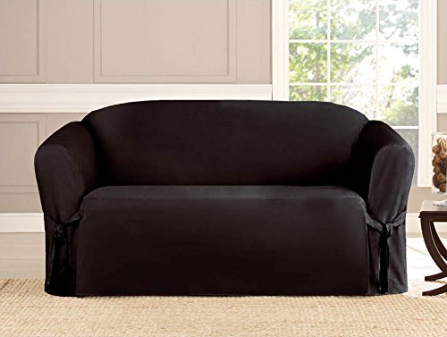 Kashi Micro-Suede Slipcover Sofa Loveseat Chair Furniture Co