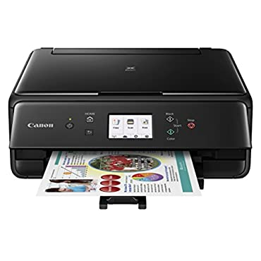 Canon Pixma TS6020 Compact Wireless All-in-One Printer, Copier & Scanner, Mobile Printing, Auto Duplex